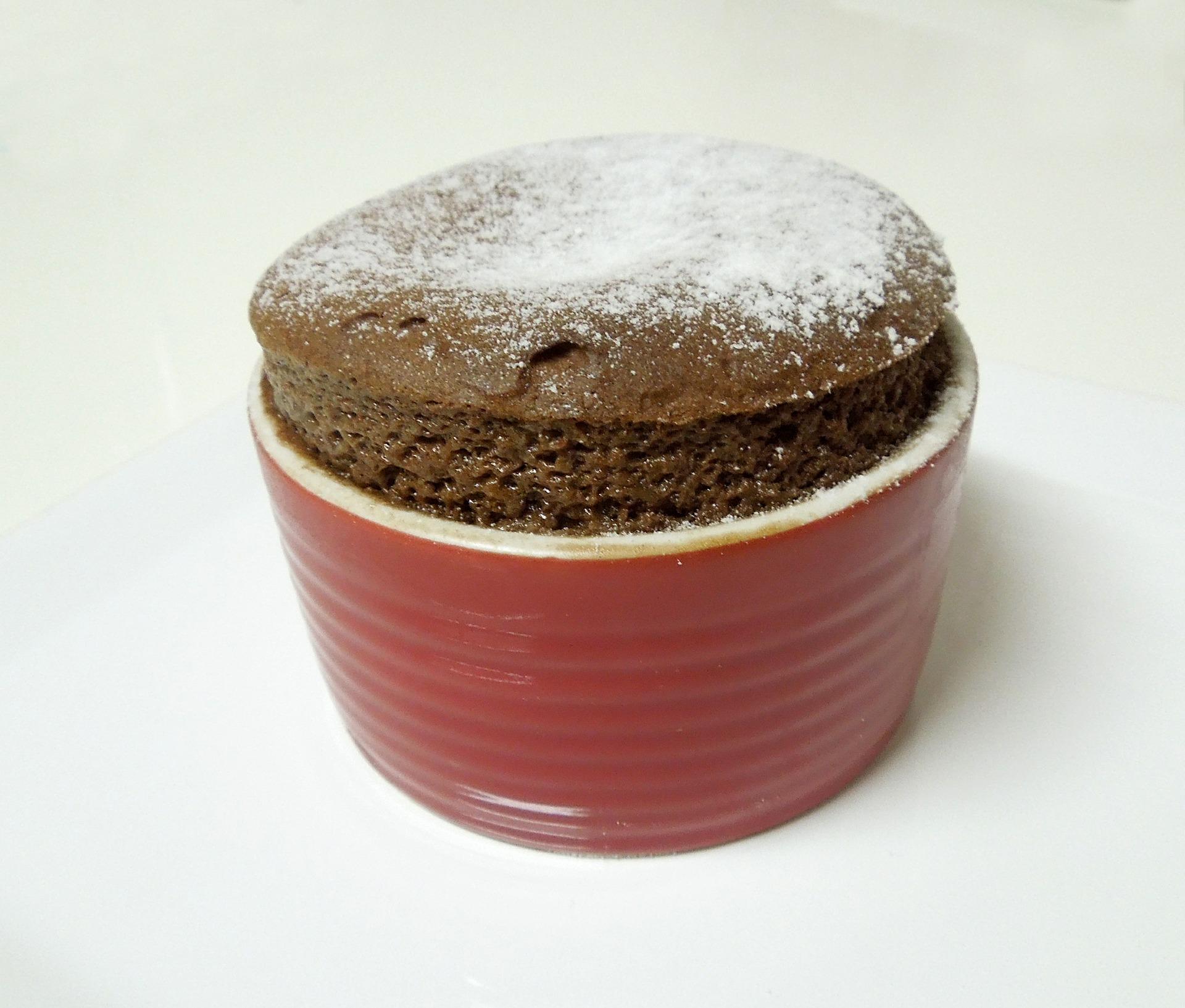 Przepis na suflet czekoladowy z płynnym środkiem