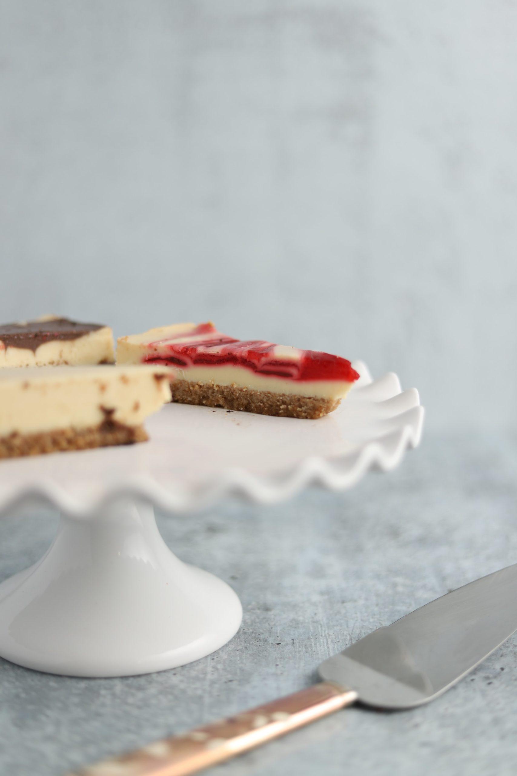 Biała czekolada do sernika