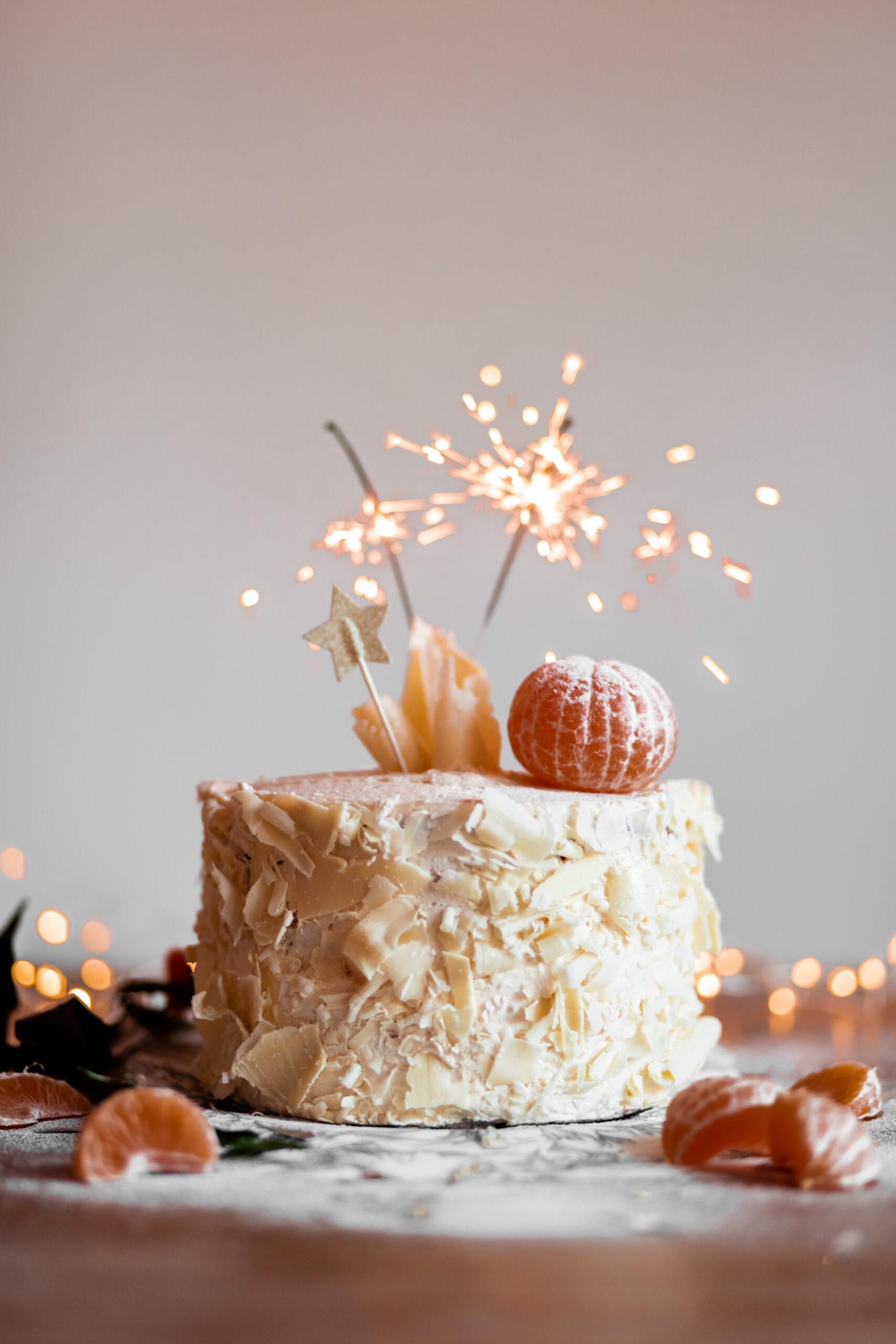 Pięć pomysłów na dekorację ciasta i tortu
