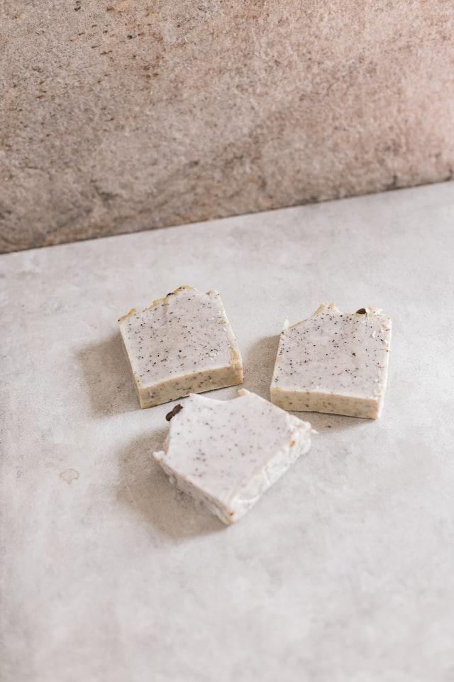 biały blok czekoladowy